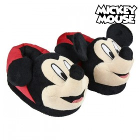 House Slippers 3d Mickey Mouse Red