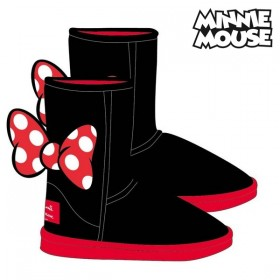 Kids Casual Boots Minnie Mouse Black