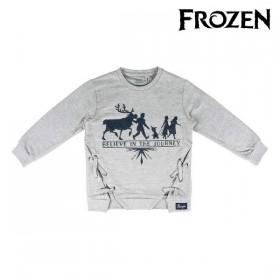 Hoodless Sweatshirt for Girls Frozen Grey