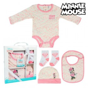 Gift Set for Babies Minnie Mouse 75548 Pink (5 Pcs)