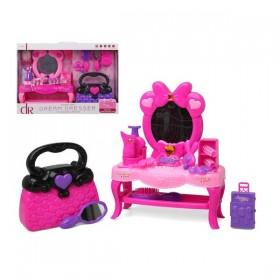 Child's Hairedressing Set Dream Dresser Pink