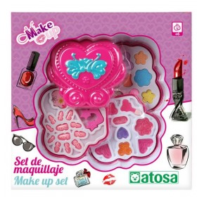 Kinder Make-up Set Hart Roze