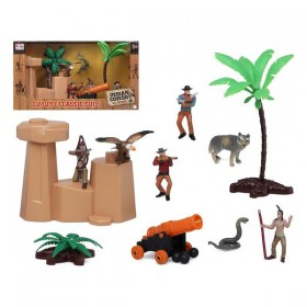 Playset Indian Cowboy (14 pcs)