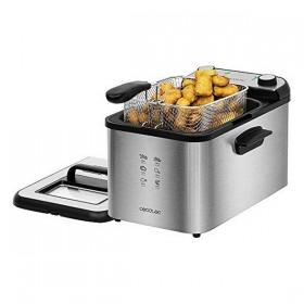 Deep-fat Fryer Cecotec CleanFry Infinity 4 L 3270W Black Silver