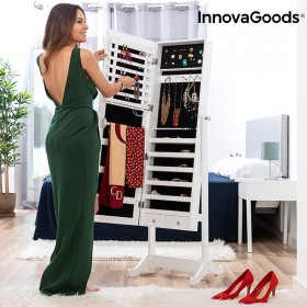 InnovaGoods XXL Standing Jewellery Mirror