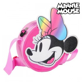 Shoulder Bag 3D Minnie Mouse Pink