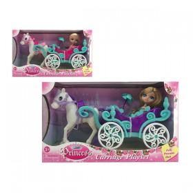 Doll Princess Carriage
