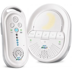 Babyphone DECT Blanc, Smart Eco Mode-Philips Avent