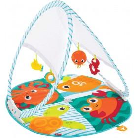 Fisher-Price Tapis d'éveil et d'activités pour bébé, facile à
