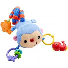 Fisher-Price Singe Balade Rigolo jouet pour poussette musical
