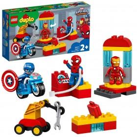 LEGO DUPLO Le labo des super-héros pour les tout-petits