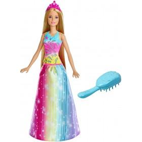 Barbie princesse Arc-en-ciel sons et lumières