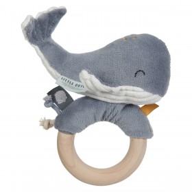 Hochet Baleine Ocean - Bleu