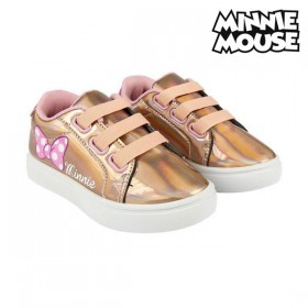Casual Kindersneakers Minnie Mouse Gouden Roze
