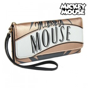 Purse Mickey Mouse Card holder Golden 70684