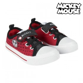 Children's Casual Trainers Mickey Mouse Red