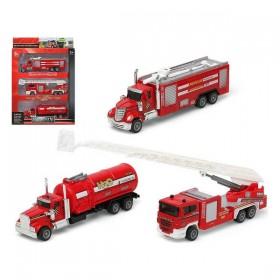 Set of cars Fireman