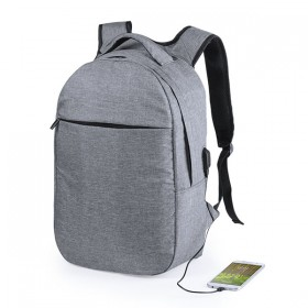 Rucksack for Laptop and Tablet with USB Output RFID 146215