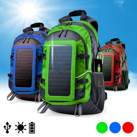 Backpack Charger with Solar Panel