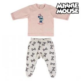 Baby Pyjamas Minnie Mouse Pink