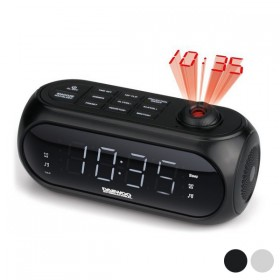 Radio Alarm Clock with LCD Projector
