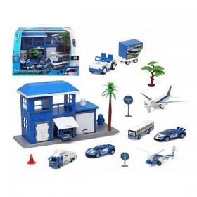 Vehicle Playset (13 pcs)