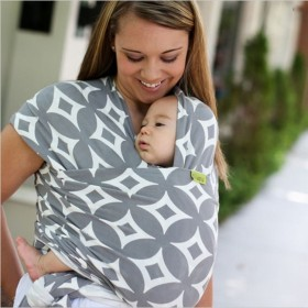 Multifunctional child nursing strap towel