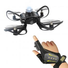 Folding drone gesture control