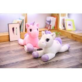 Unicorn plush toy 80 cm