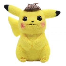 Pikachu detective plush toy
