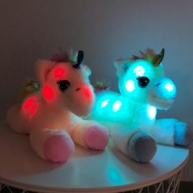 Illuminated Unicorn Plush Toy 40 cm