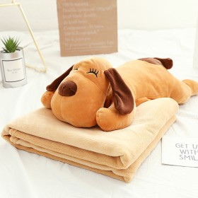 Plush toy + blanket