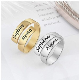 Ring to customize - 2 names