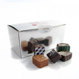 Box of assorted fine chocolates MOF JF Patouillard, 250g