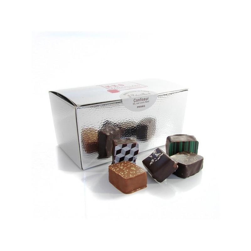 Box of assorted fine chocolates MOF JF Patouillard, 250g