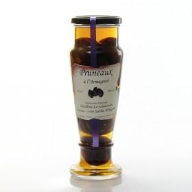 Prunes in Armagnac 18 ° La Salamandre Distillery, 35cl