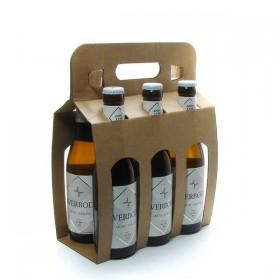 Pack of 6 Belgian Beers Averbode Blonde 6 x 33cl