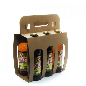 Pack of 6 Beers from Reunion Island Dodo Bourbon 33cl x 6
