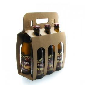 Pack of 6 Belgian Beers Jambe de Bois Blonde 6 x 33cl