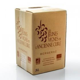 BIB AOC Bergerac red organic wine Les Jeunes vignes de