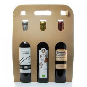 Box 3 Bottles of Bergerac Red Wine 3x75cl