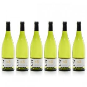 6 flessen Domaine UBY Colombard-Sauvignon n ° 3 2019