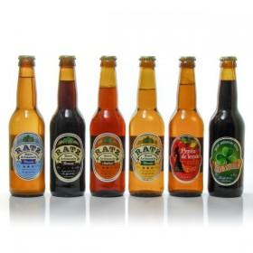 Lot of craft beers from Quercy Brasserie Ratz, 6x33cl