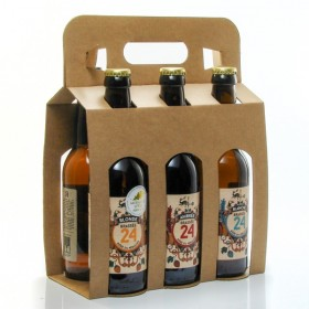 Pack of 6 mixed flavors Brasserie Artisanale de Sarlat 6x33cl