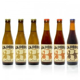 Lot of craft beers from Périgord Lapépie Brewery, 6x33cl
