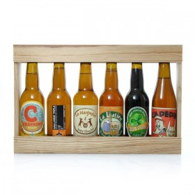 Lot of craft microbrewery beers from the South West 6x33cl
