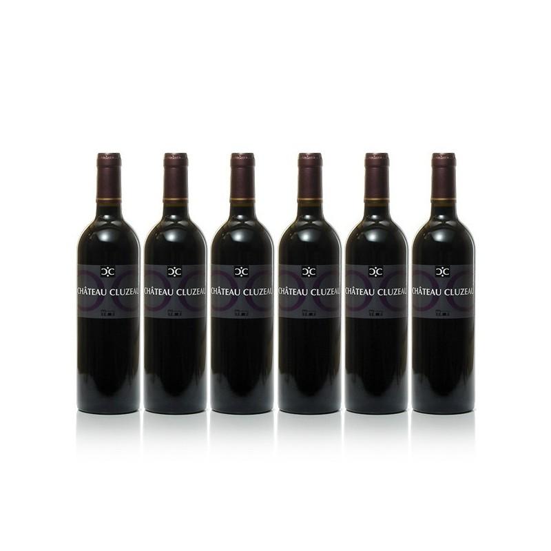 6 Bottles Château Cluzeau AOC Bergerac red 2014, 6x75cl