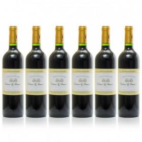 Lot of 6 bouteilles Château la Renaudie AOC Pécharmant 2016 75cl