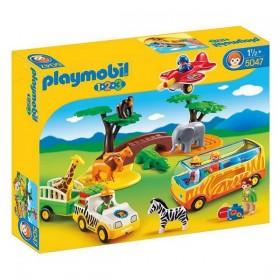 Playset 1.2.3 Safari Playmobil 5047