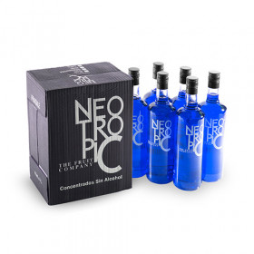 Blue Neo Tropic Refreshing Drink Without Alcohol 1L X 6